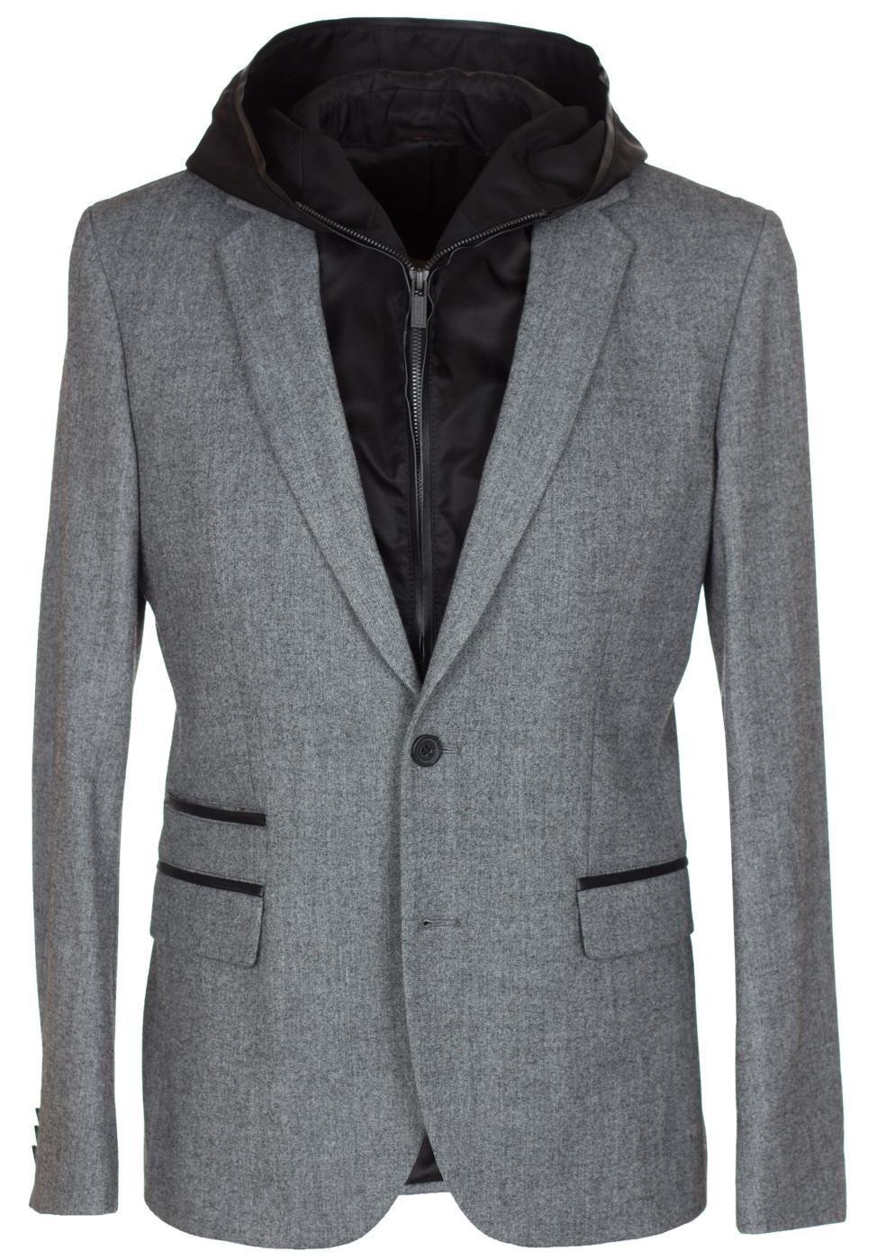 0bb0facbd Hugo Boss 2 Piece Detachable Hooded Blazer Jacket Sport Coat US ...