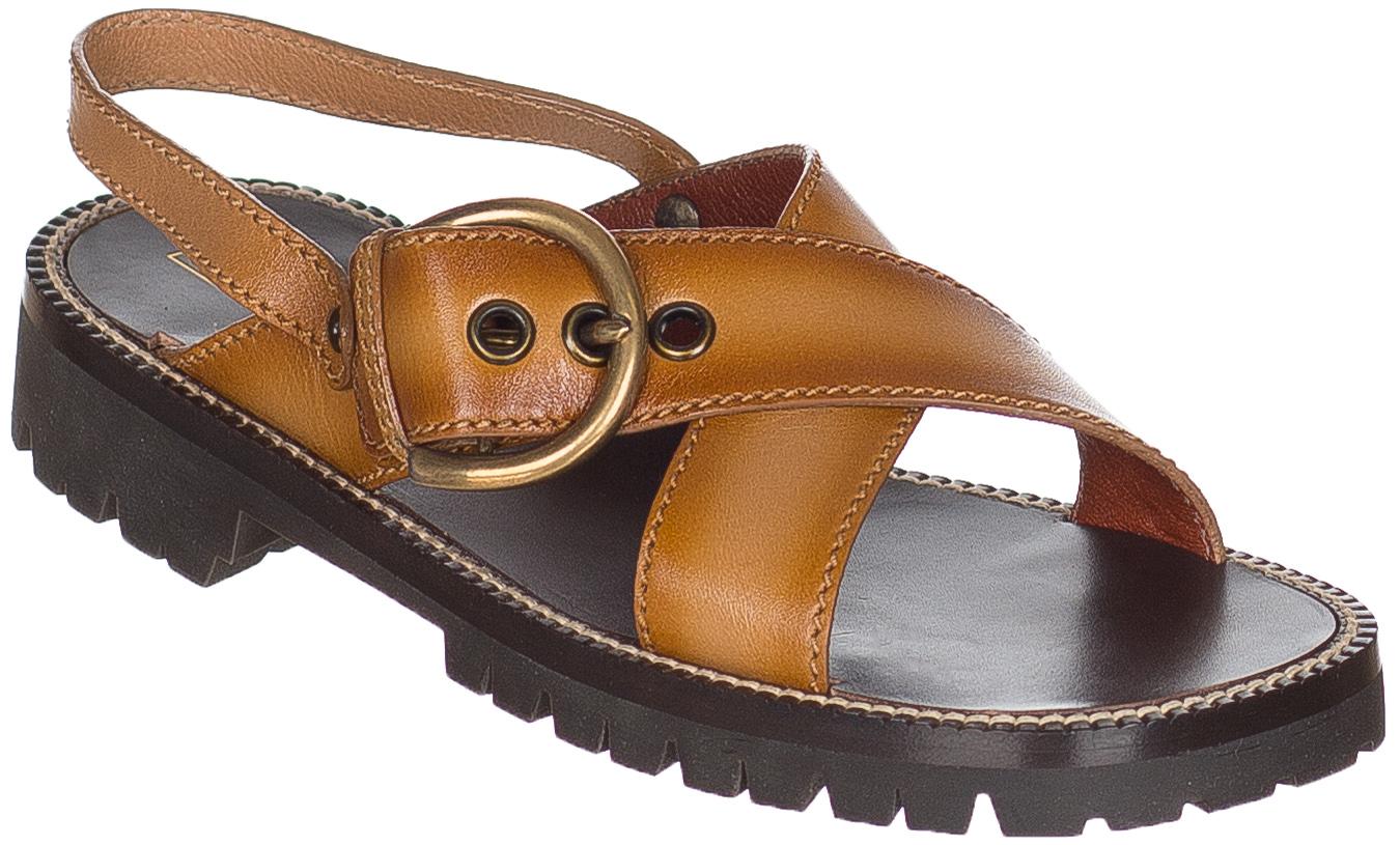 Jacobs Lug Brown Sandals Women's Marc Buckle Shoes Peanut Sole HIYD29WE