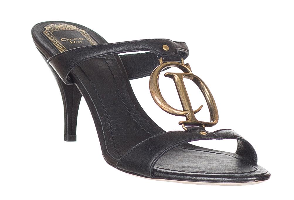 Christian Dior Women's Black Leather