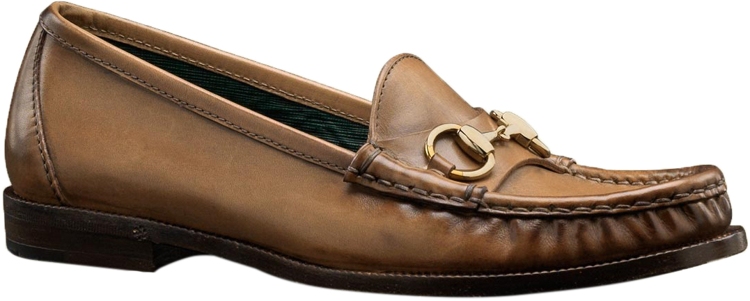 ccc4f948899 Gucci Women s Beige Hand Shaded Leather 1921 Horsebit Loafers Shoes
