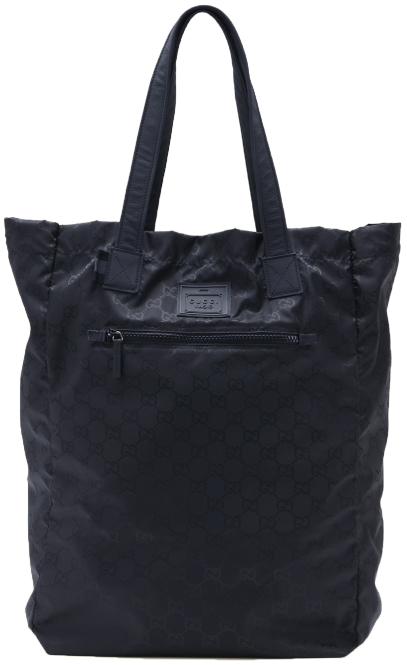 2aa02ad866 Gucci Viaggio Collection Blue GG Nylon Diamante Web Stripe Tote Bag