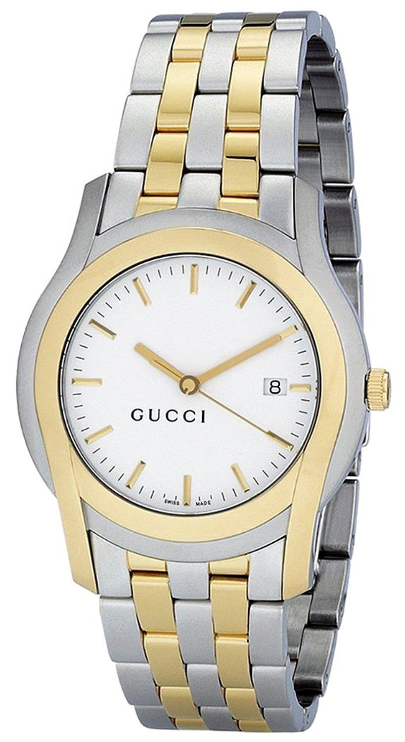 aa8a6187f3a Gucci Men s G Class 5500 XL Gold-Tone Stainless Steel Watch YA055214