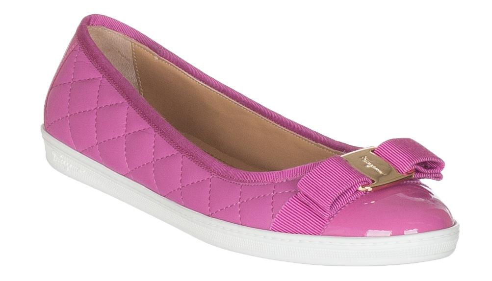 ferragamo shoes pink