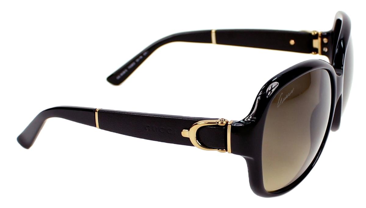 deb98d2cbb0 Gucci Women s GG 3638 S Black Oversized Stirrup Sunglasses