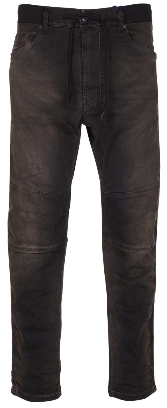 6515235d Diesel Men's Black Narrot Sp-Ne Denim Sweat Pants Jogg Jeans
