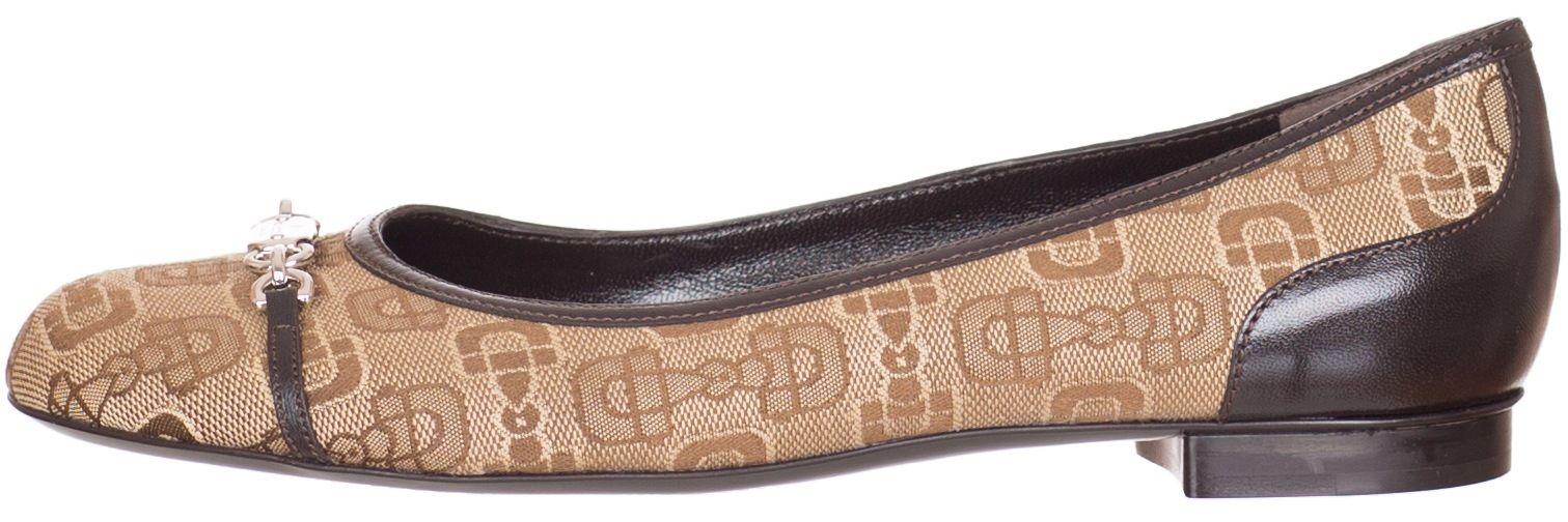 6c8ca833b Gucci Beige Horsebit Ballerina Flats Shoes US 8.5 9.5 EU 38.5 39.5