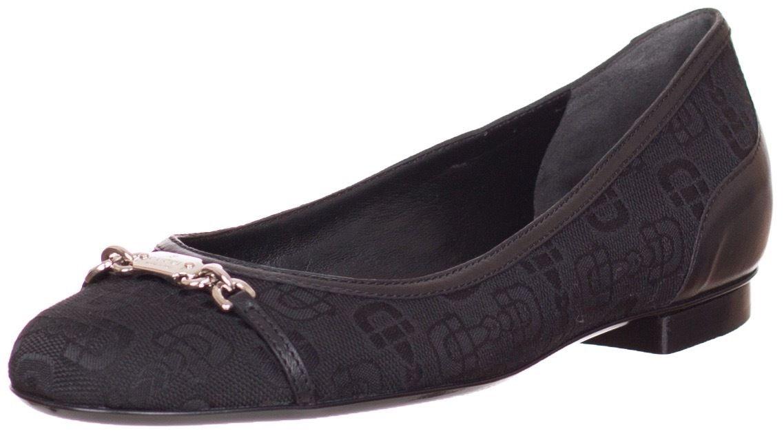 9d731f1c0 Gucci Black Horsebit Ballerina Flats Shoes US 5 8 9 9.5 10.5 EU 35 ...