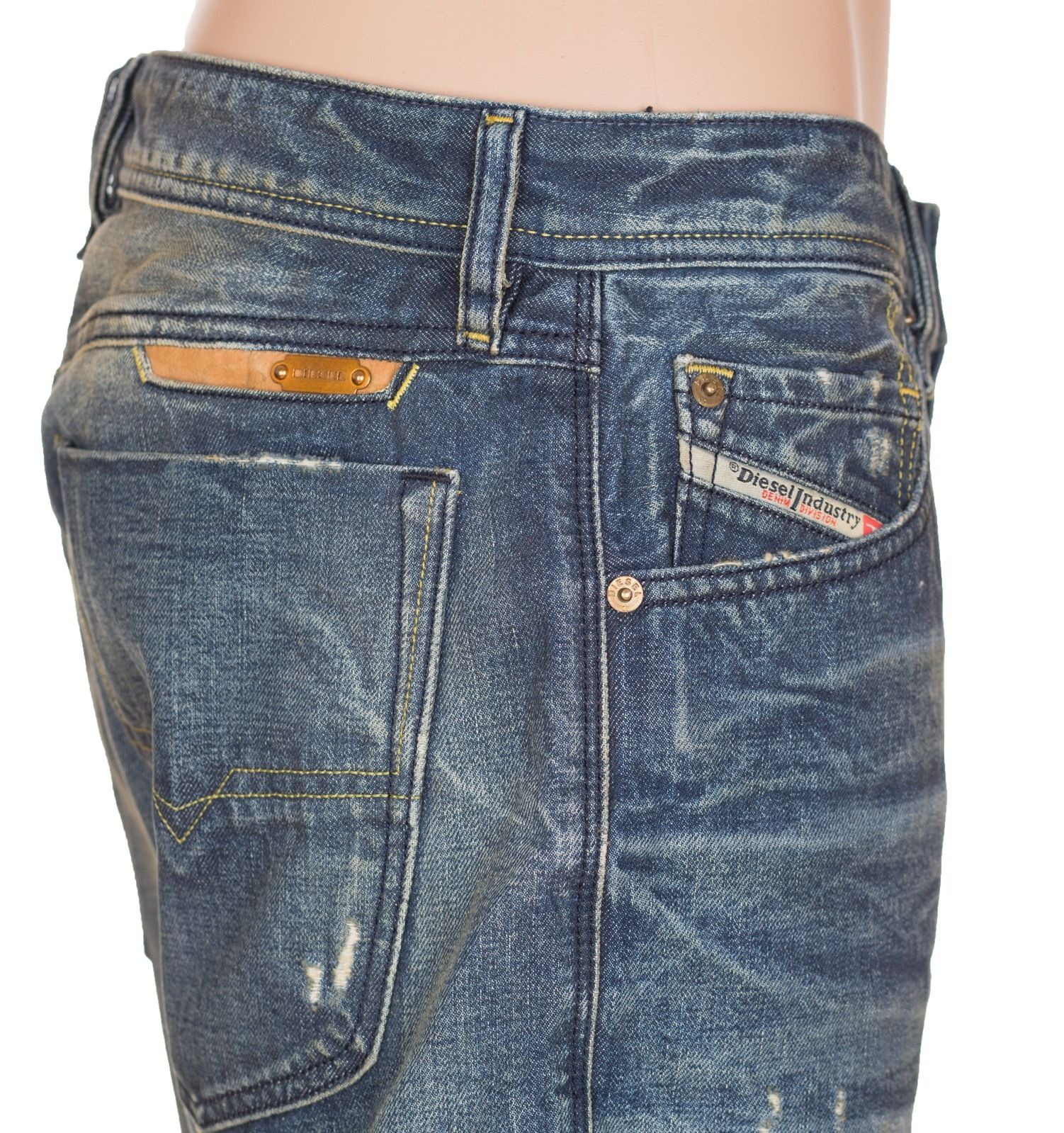 12f1c4d34fdfa Diesel Denim Jeans Bravefort Comfort Carrot Wash 0801M sz W32 L32