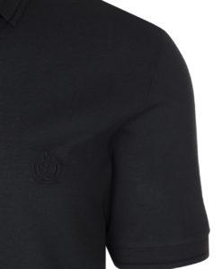 6f1ba15bf Dolce & Gabbana Men's Dark Green Crown 'Corona' Short Sleeve Polo Shirt