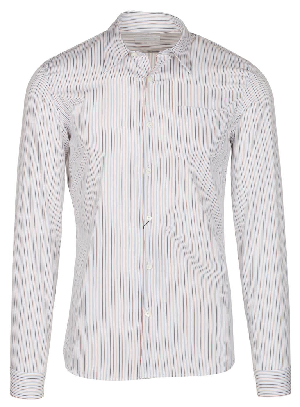 778bd04e9d3 Mens Black And White Striped Dress Shirt - DREAMWORKS