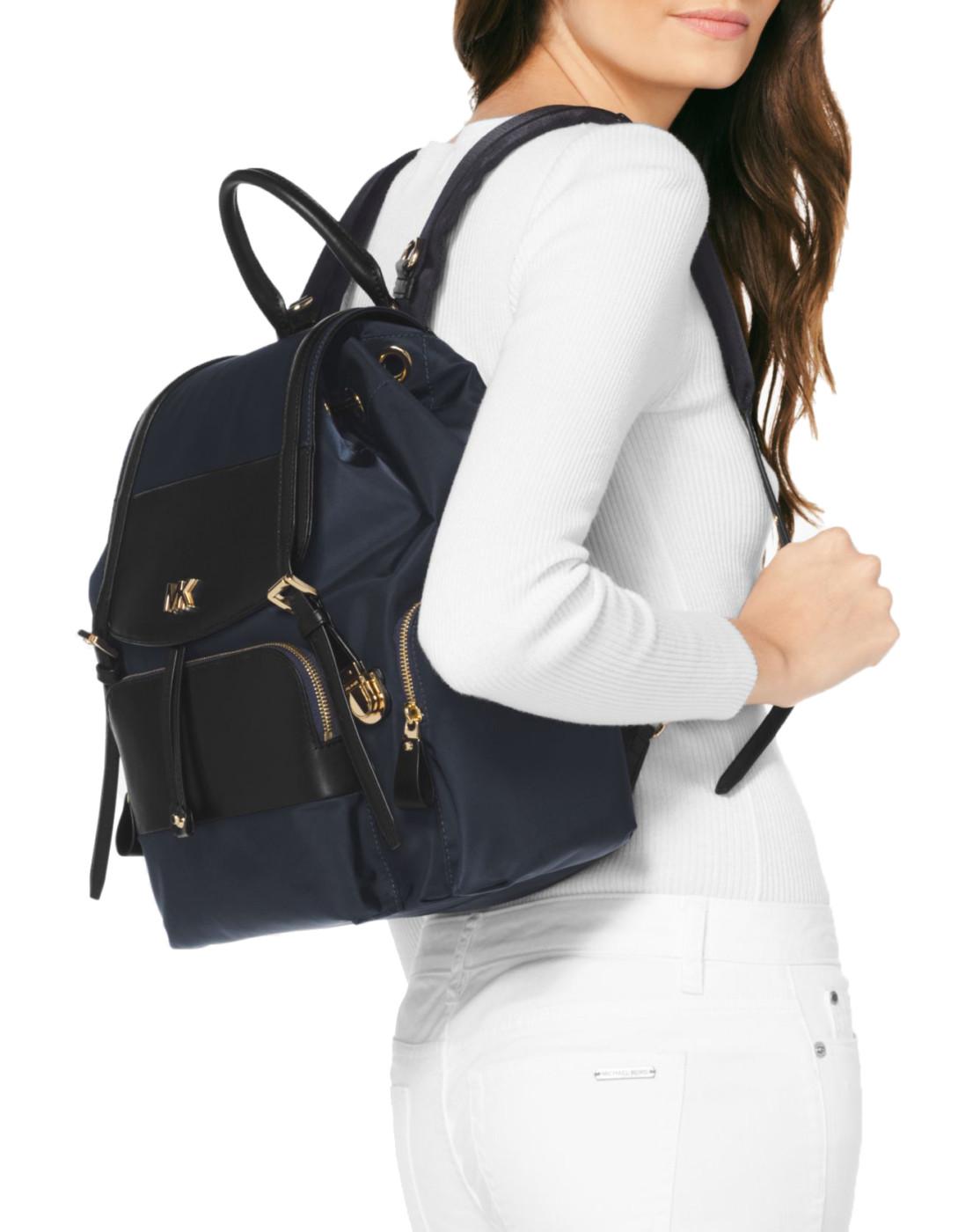 5ecf5bfac601de MICHAEL Michael Kors Mott Large Flap Diaperbag Backpack