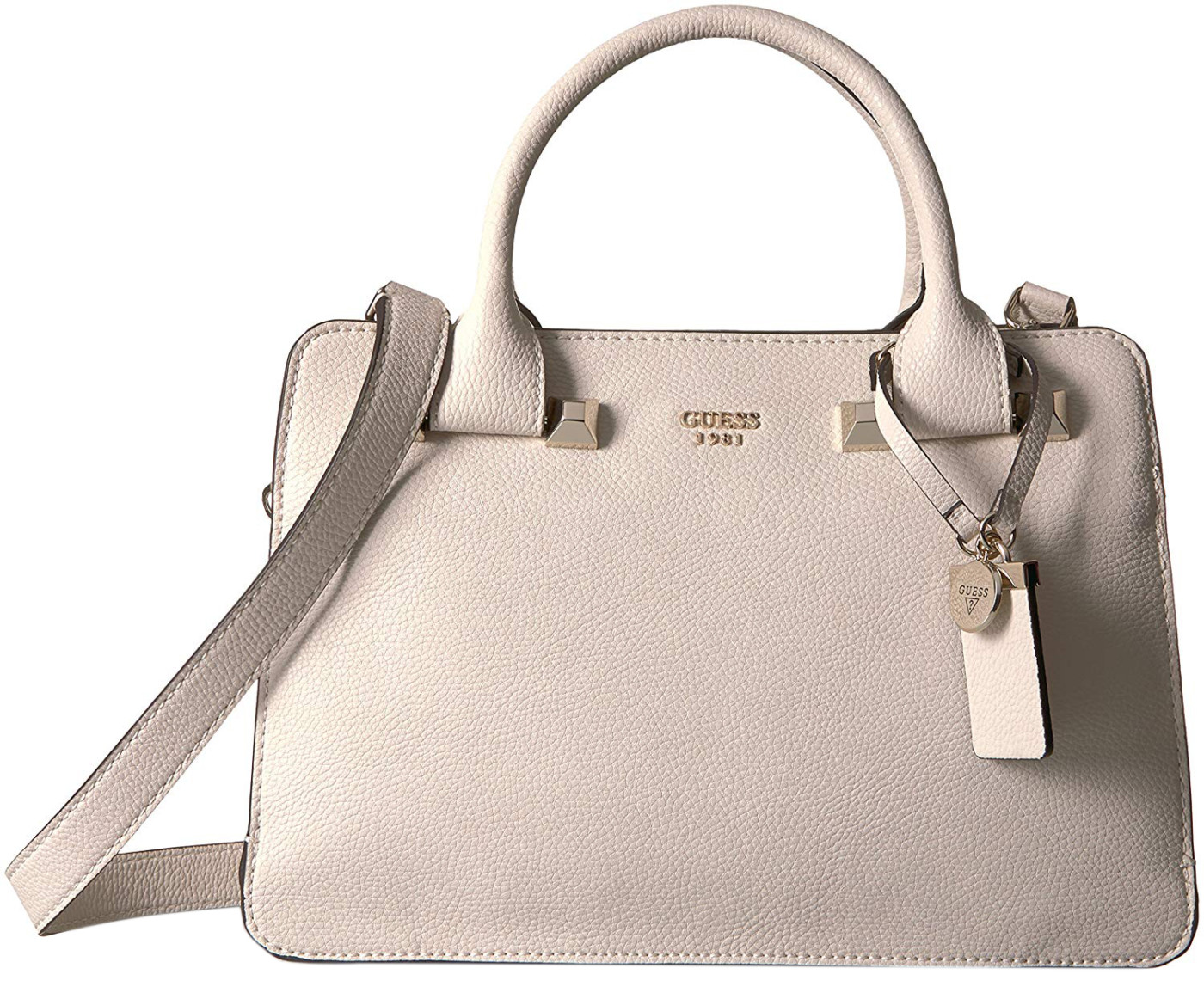 dc288cdbf232 GUESS Women s Stone Leather Talan Large Top Handle Satchel Bag