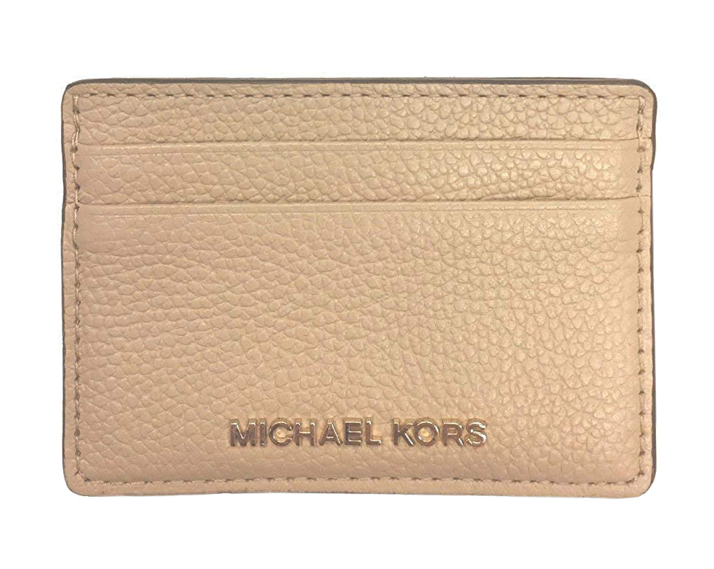 53a5bfd2000e MICHAEL Michael Kors Women's Pebble Leather Card Holder